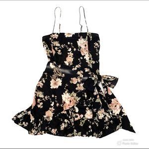 NWOT Intimately Free People Faux Wrap Mini Dress